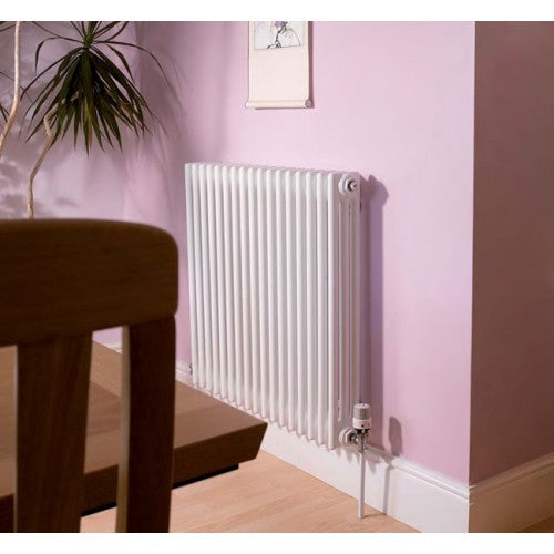 Apollo Roma Horizontal 3 Column Radiator 500mm x 600mm.