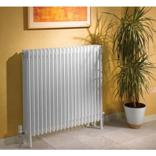 Apollo Roma Steel 4 Column Radiator with Feet 300 x 1000.