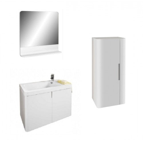 Alliance Cara 750 Furniture Pack Gloss White finish