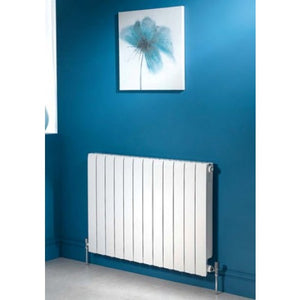 Apollo Modena Horizontal Aluminium Radiator 680mm x 640mm.