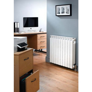 Apollo Modena Flat Aluminium Radiator 780mm x 800mm.