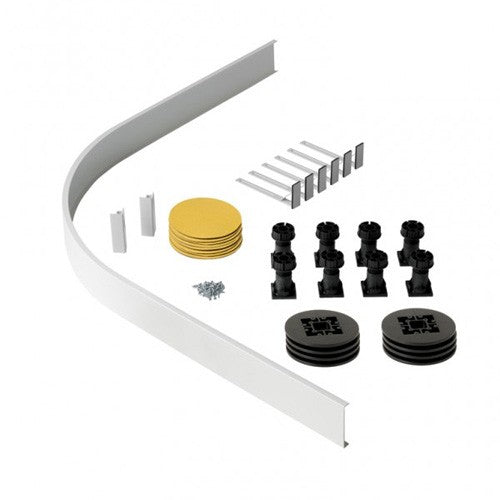 Volente Quadrant Leg & Panel Riser Kit (For Trays Over 1200mm)