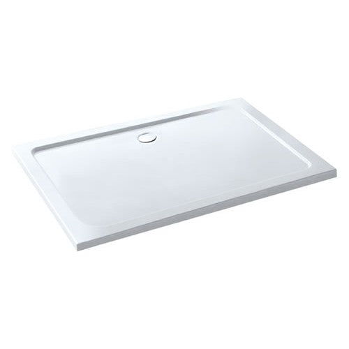 Volente 1800mm X 760mm Rectangular Low Profile Shower Tray & Waste