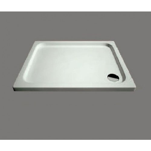 Citylux Low Profile Square Tray and Waste 1000mm X 1000mm