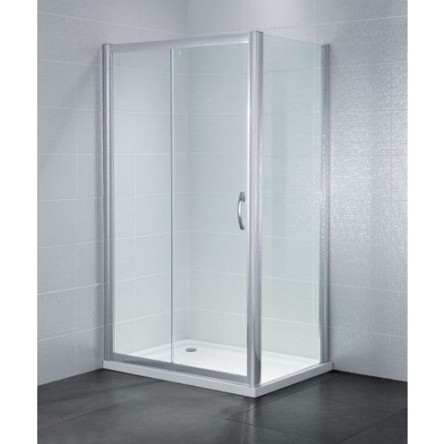 April Identiti2 Sliding Shower Doors 6mm Glass 1400mm