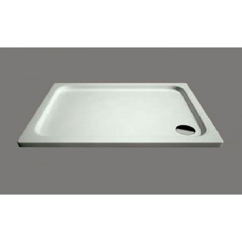 Citylux Low Profile Rectangular Tray and Waste 1000mm X 800mm