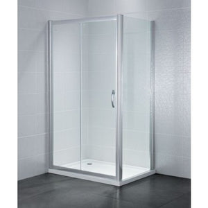 April Identiti2 Sliding Shower Doors 6mm Glass 1600mm