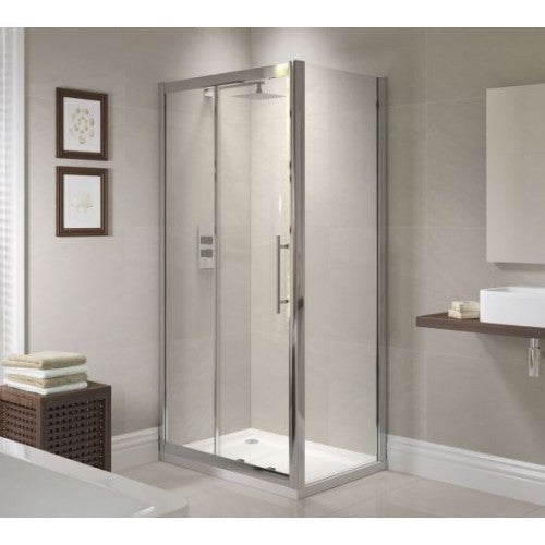 April Prestige Sliding Shower Door 1200 mm