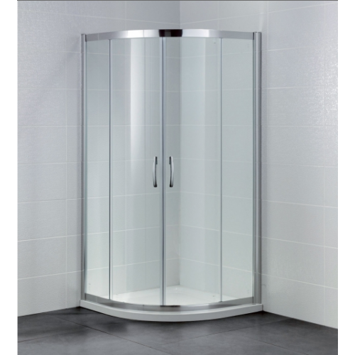 April Identiti2 2 Door Quadrant Shower Enclosure 6mm Glass 800mm