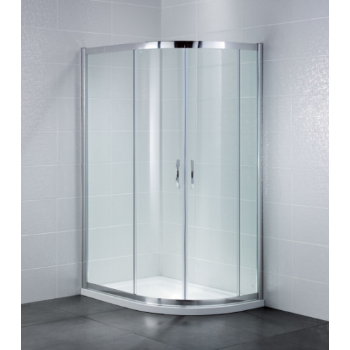 April Identiti2 2 Door Offset Quadrant Shower Enclosure 6mm Glass 1200 x 900mm