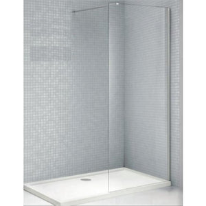 Bathroom Solutions Citylux 6mm Walk in Shower Panel 1100mm