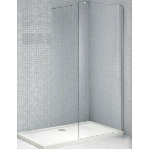 Bathroom Solutions Citylux 6mm Walk in Shower Panel 1200mm