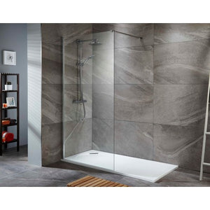 ALLIANCE TALLA 8MM SHOWER SCREEN 760mm Layout 1