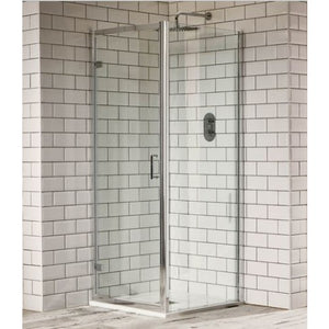 Aquaglass Purity 760mm hinged pivot door