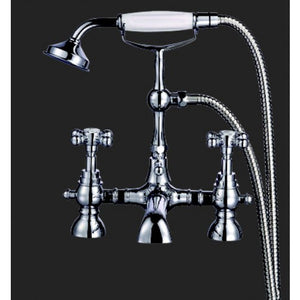 Bathroom Solutions Alfred Bath Shower Mixer with Shower Kit