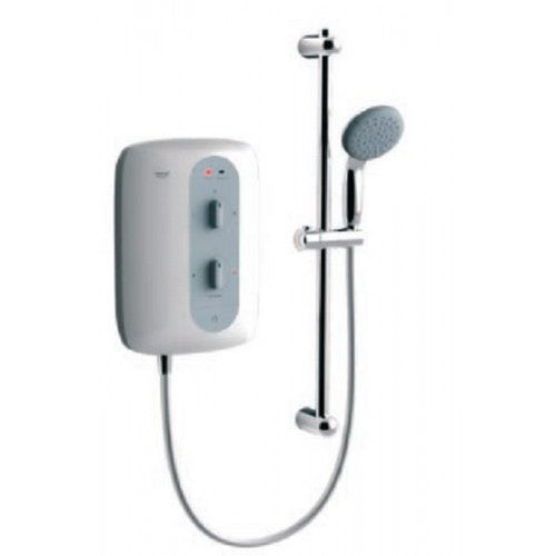 Grohe Tempesta 100 Electric Shower, 8.5kW Night time Grey