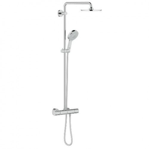 Grohe Rainshower System 210 Shower system with thermostat