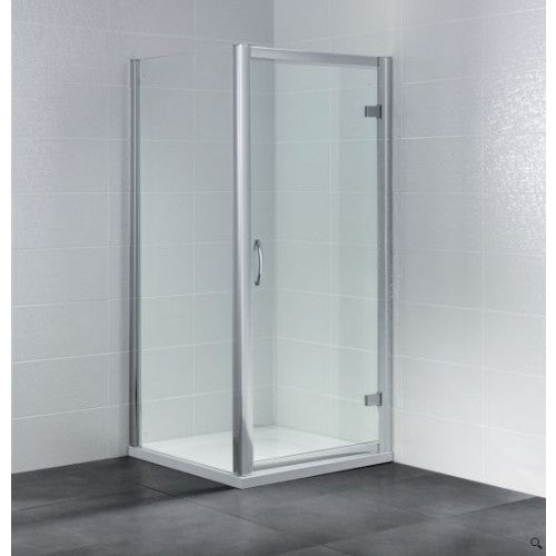 April Identiti2 Hinged Shower Door 8mm Glass 700mm