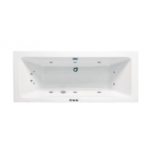 Phoenix Rectangularo Luxury Double Ended Bath No.3- Amanzonite 1700 X 750 Whirlpool System 1