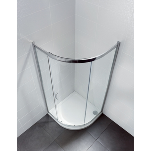 April Identiti2 1 Door Quadrant Shower Enclosure 6mm Glass 900mm