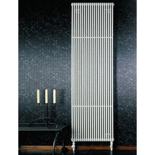 Zehnder Striane Vertical Designer Radiator - White 1000mm High