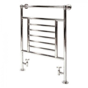 Cotswold Sherbourne traditional towel rail - chrome