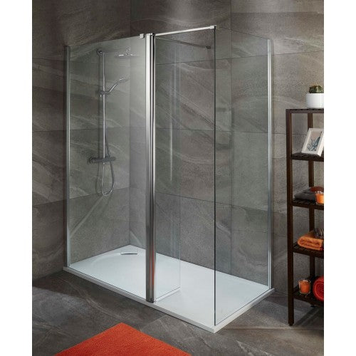 ALLIANCE TALLA 8MM SHOWER SCREEN 760mm Optional Side panel and optional Talla Tray Layout 4