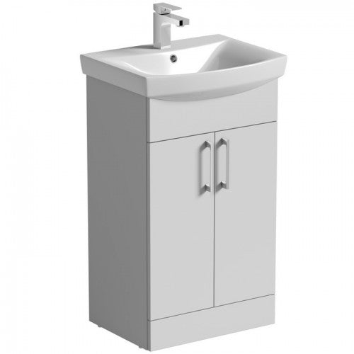 Mere Amor 500mm Vanity Unit & Basin (WHITE)
