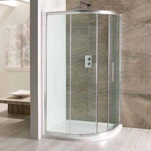 Cotswold Volente Offset Quadrant Enclosure 1000 x 700mm