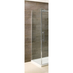 Cotswold Vanguard 800mm Side Panel - Polished Chrome
