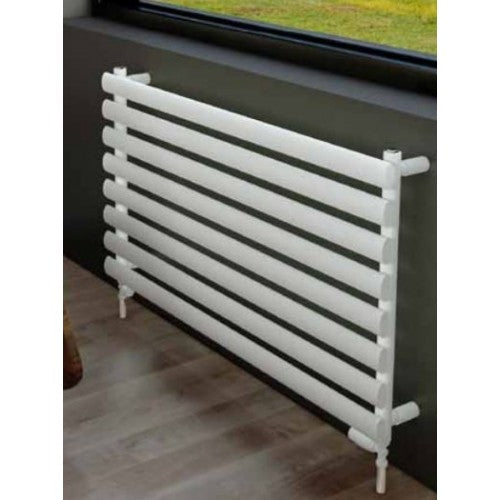 Eastbrook Tunstall Towel Rail 560mm x 1000mm Matt White