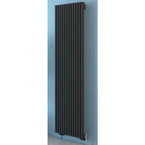 Eastbrook Rowsham Vertical Radiator 1800mm x 380mm Anthracite