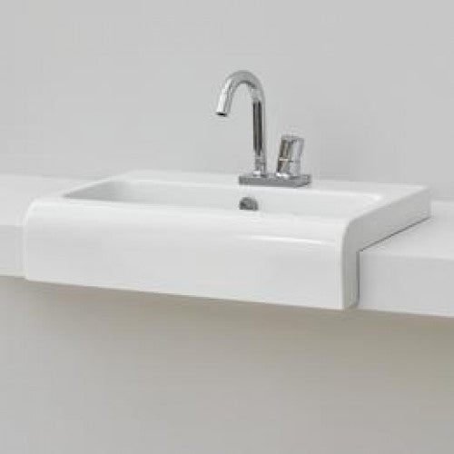 Eastbrook Piave 650mm Semi Recessed Basin