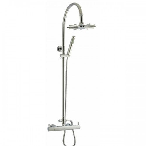 Hudson Reed Thermostatic Bar Valve with Infinity Shower Kit - Chrome