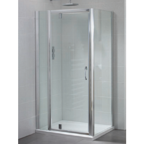 April Identiti2 Pivot Shower Door 6mm Glass 700mm