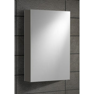 Alliance Lomond 400mm 1 door mirror Gloss anthracite