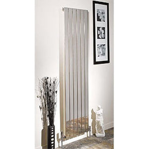 Apollo Capri Vertical Single White 1800mm x 600mm Radiator
