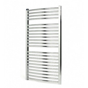 Apollo napoli 1500mm x 500mm straight multirail - white
