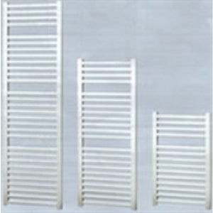 Apollo Napoli 1700mm x 600mm sealed electric curved towel rail - white