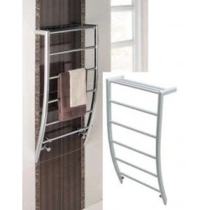 Biava corinium 1200mm x 500mm towel rail - white