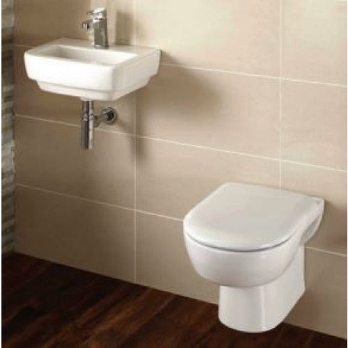 Frontline Blok Wall Hung Cloakroom Suite