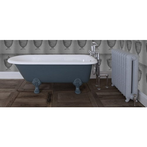 JIG Cambridge Cast Iron Bath (1670x770mm) with Feet