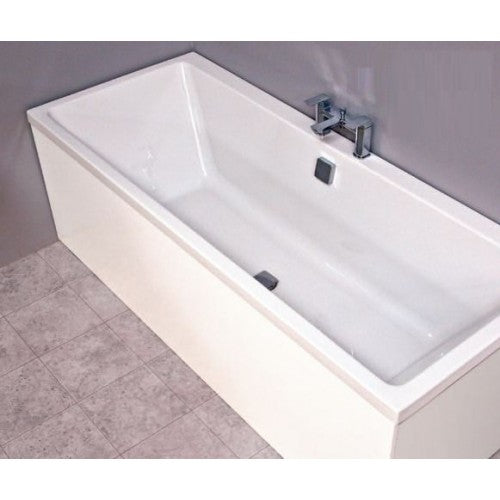 Bathroom Solutions Slim Infinity Double Ended Bath 1700 x 700mm Bath