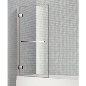 Citylux Premium 8mm Hinged Bath Screen