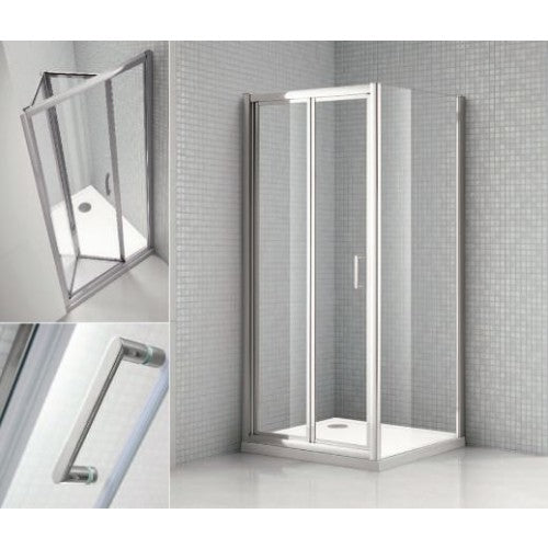Bathroom Solutions Citylux Plus Bifold Door 800mm