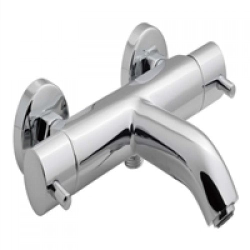 Vado zoo thermostatic bath shower mixer wall mounted
