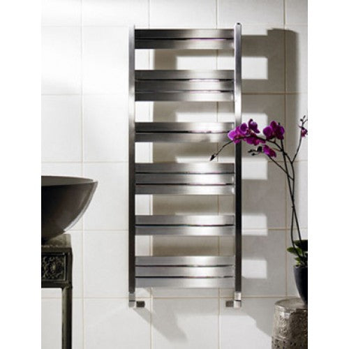 Zehnder Cove Stainless Steel Towel Rail 1180 x 600mm