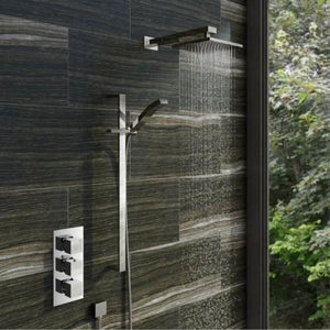 Cubik Thermostatic Triple Valve Complete Shower