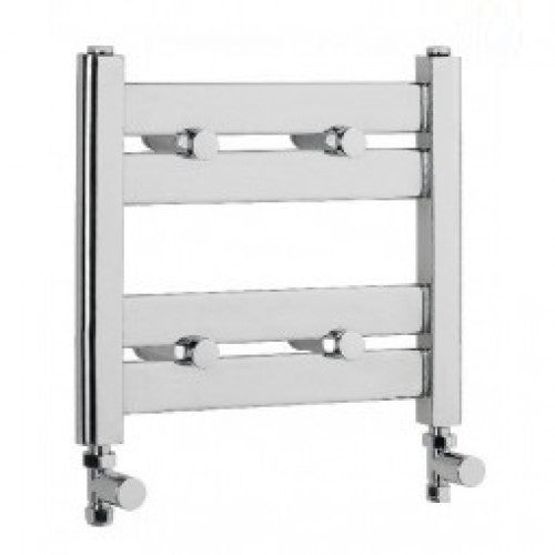 Eastbrook Staverton 340mm x 400mm towel rail - Chrome