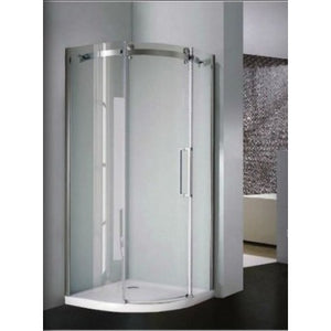 Bathroom Solutions DB Single Door Frameless Quadrant Enclosure